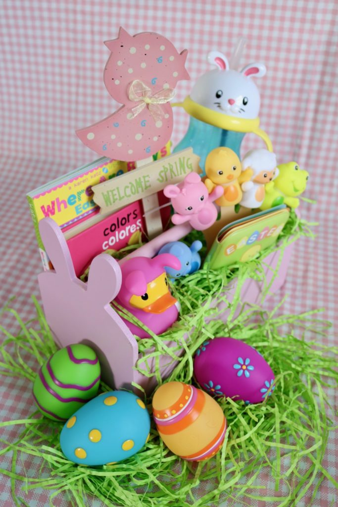Easter basket inspiration for kids baby girl easter basket negle Image collections