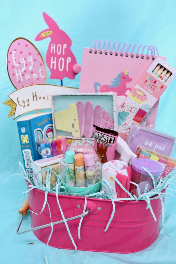 Easter basket inspiration for kids tween girl easter basket negle