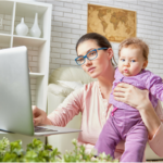 A Day-In-the-Life of a Work-At-Home-Mom