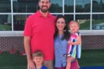 Jennifer and her husband Tyler, along with their children, Tate and Coralie.