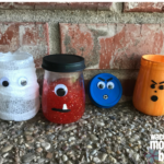 5 Baby Food Jar Crafts: Halloween Edition
