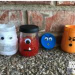 5 Baby Food Jar Crafts: Halloween Edition