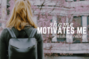 WACO-Shame Motivates Me _ Finishing College