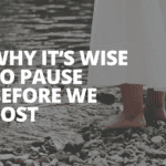 Why it's Wise to Pause Before We Post – Social Media