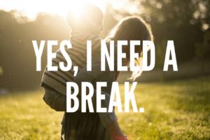 WACO-Yes, I Need a Break