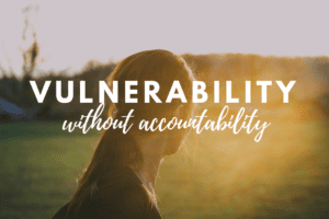 Waco Moms Blog Vulnerability Without Accountability