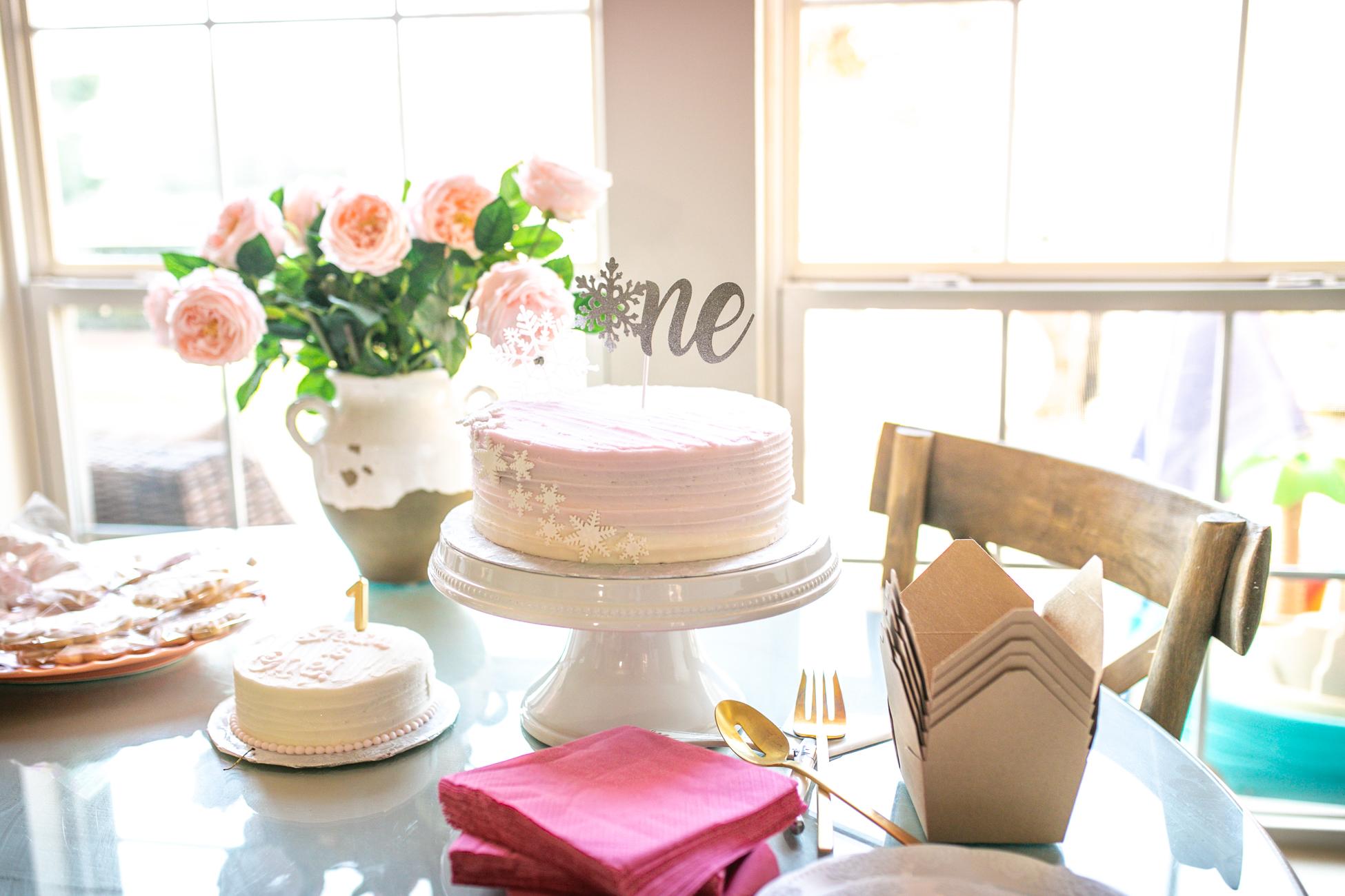 Simply Delicious Bakery Cake + Smash Cake